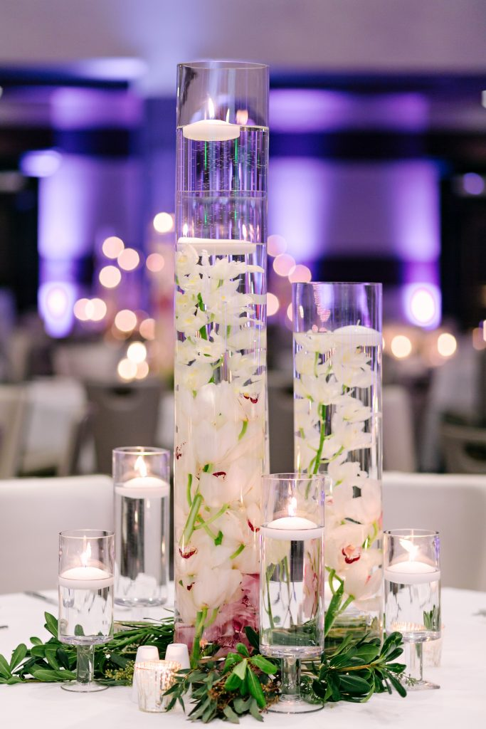 wedding table decorations at fairmont austin