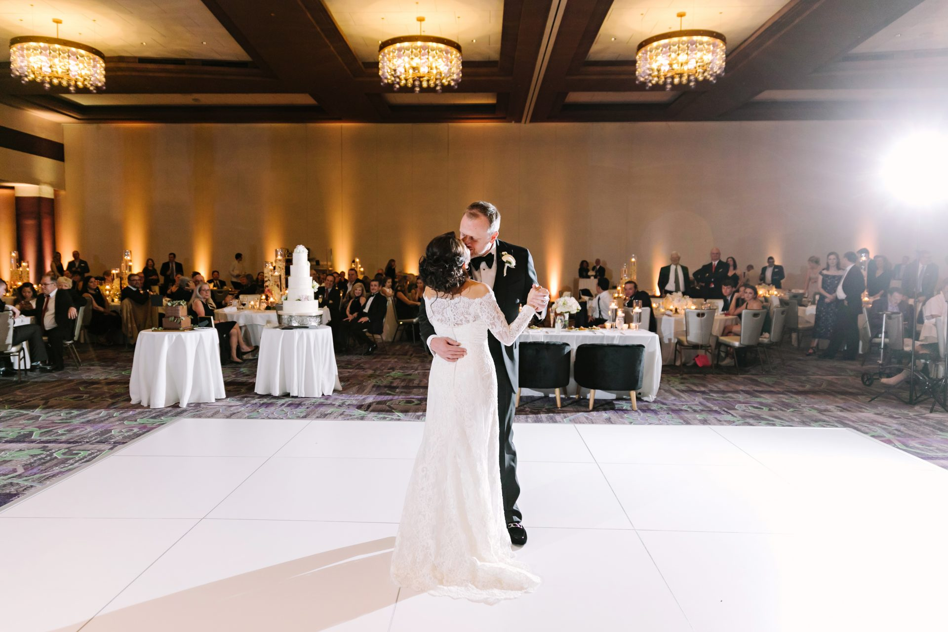 fairmont austin wedding in congressional ballroom