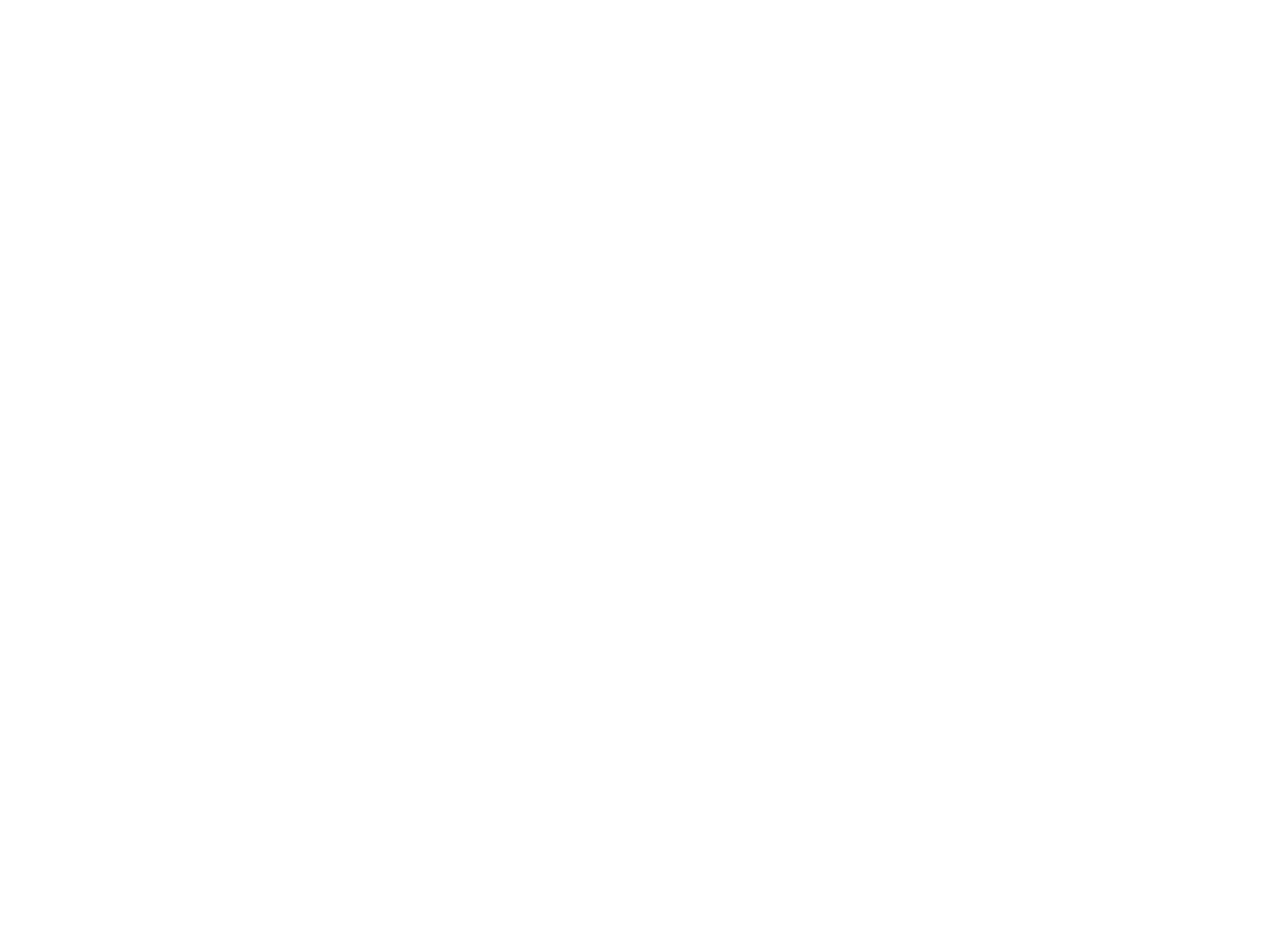 All caps serif font with fishhook centered logo of Garrison restaurant