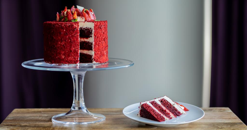 fairmont austin's atx red velvet cake