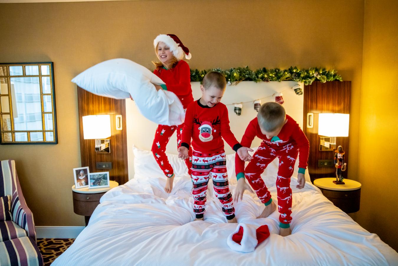 fairmont austin santa suite