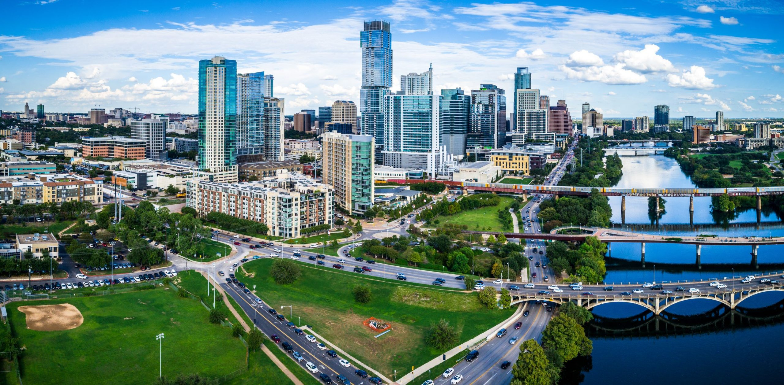 daytime view of downtown austin